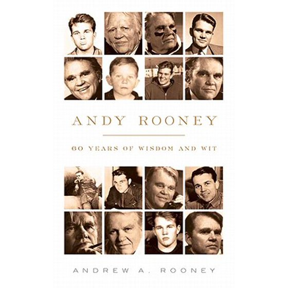 Andy Rooney 60 Years Of Wisdom And Wit Walmart
