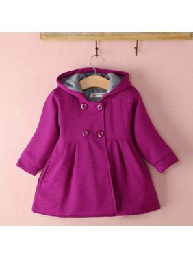 Red Baby Girls Coats & Jackets