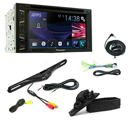 PIONEER STEREO AVH-280BT TOUCHSCREEN USB DVD CD CAR BLUETOOTH STEREO +Universal Rear View Night Vision Backup Camera + Free Trinket Box (Bluetooth Dvd Cd Car Stereo)