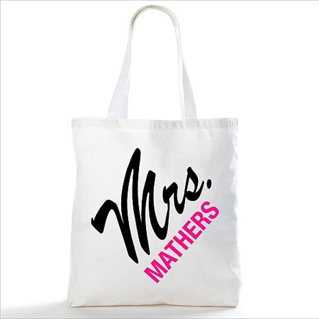Personalized The Mrs Tote Bag