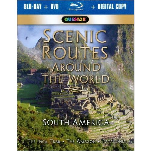 Scenic Routes Around The World: South America (Blu-ray + Standard DVD) (Widescreen)
