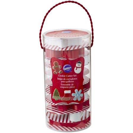 - Wilton Christmas Cookie Cutter Set, 10-Piece Gift Set