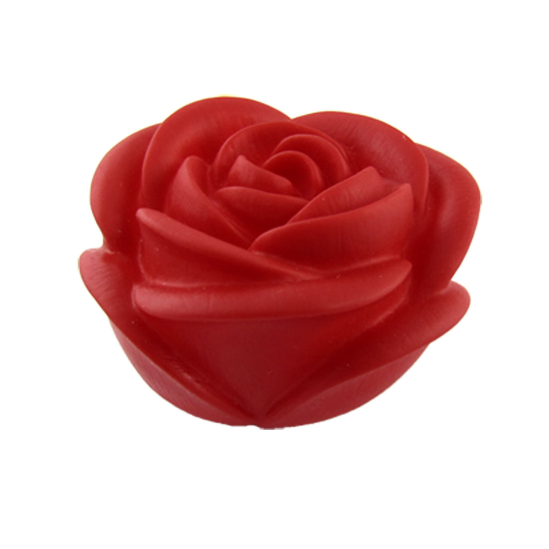 Home Bedroom Desktop Ornament Rose Shape Night Light Lamp Red Rose Shape