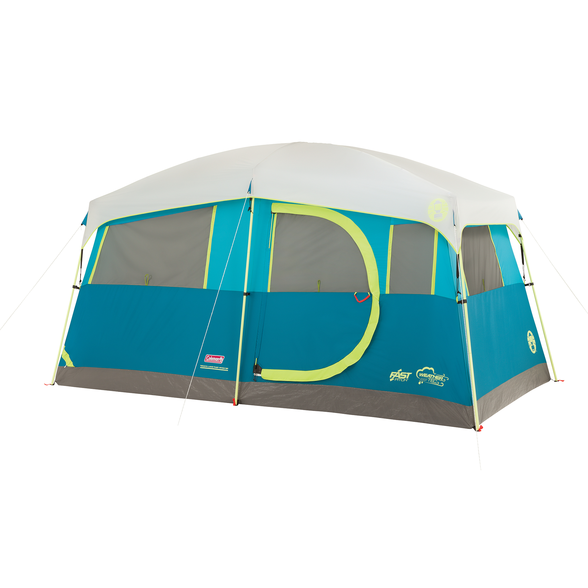 Coleman Tenaya Lake Fast Pitch 6-Person Cabin Tent with Built-In Cabinets by COLEMAN