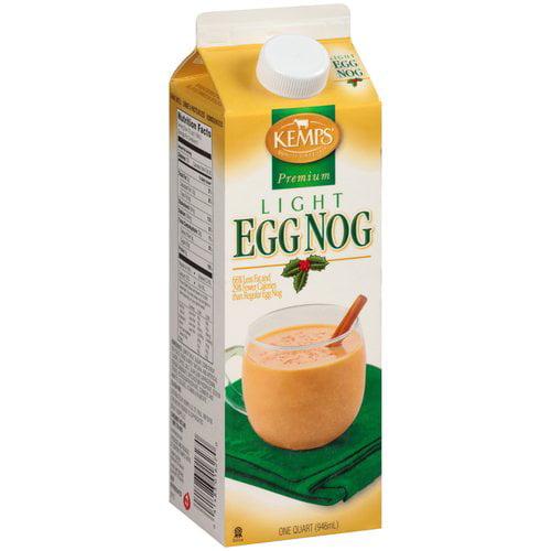 Kemps Premium Light Egg Nog, 32 oz