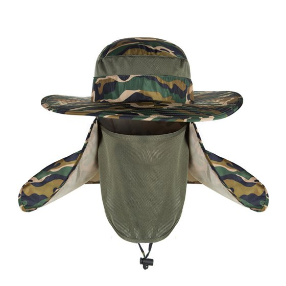 2950a1eb zdstore - 360 degree outdoor hat men summer sun hat male waterproof ...