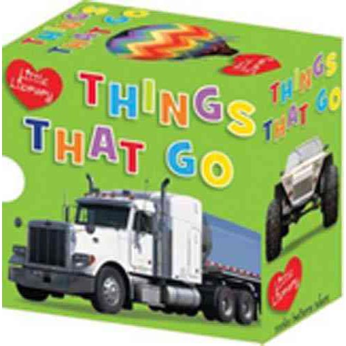 Little Library, Things That Go: Emergency / Farm / Flying / Trucks / Diggers / Cars