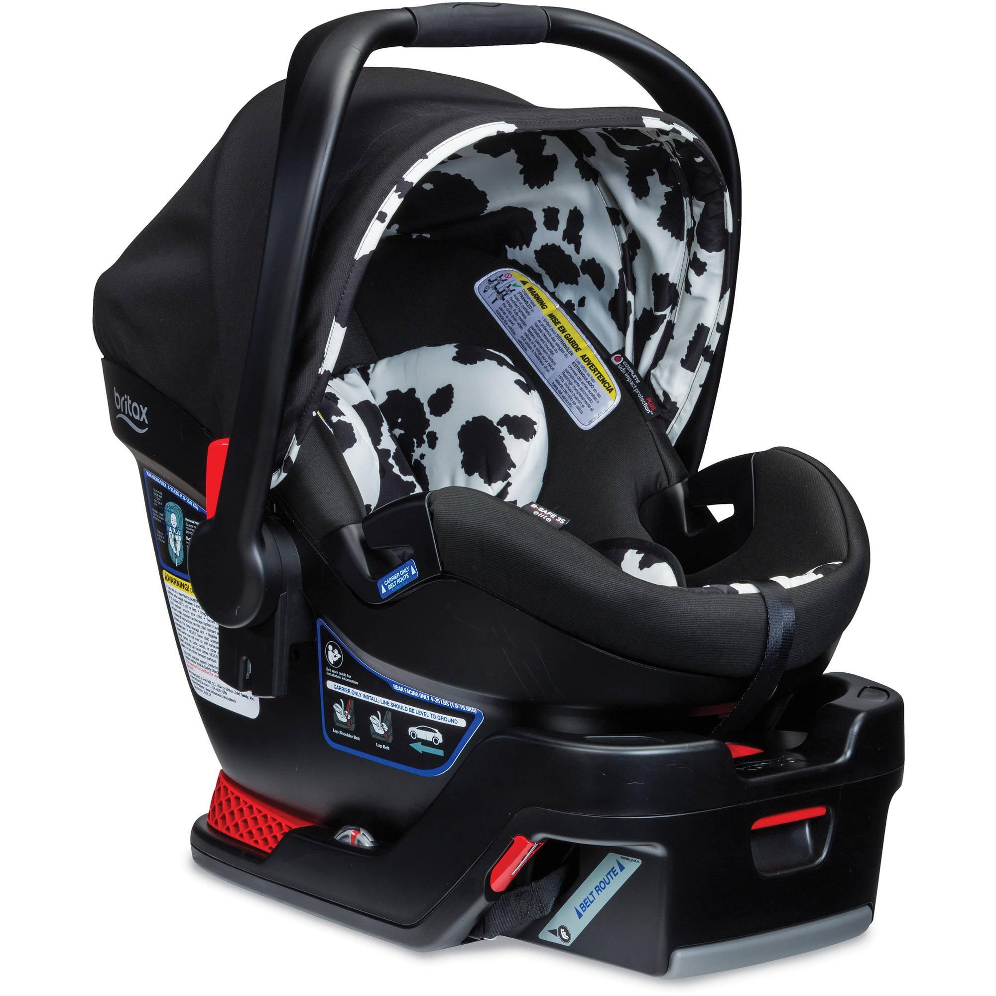 Britax B-Safe 35 Elite Infant Car Seat, Cowmooflage
