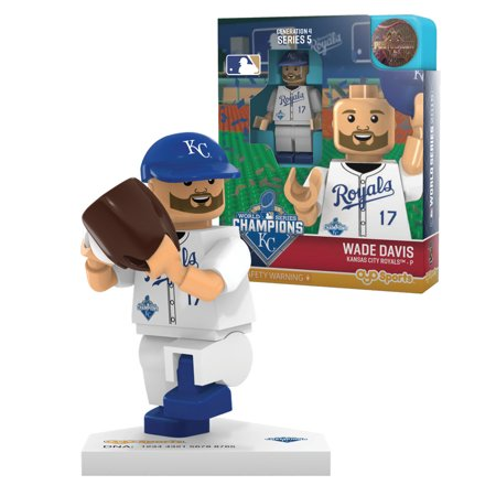 Oyo Mlb 2015 World Series Champion Limited Edition Minifigure Kansas City Royals   Wade Davis