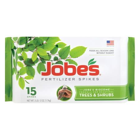 Jobes 1000 Tree & Shrub Fertilizer Spikes 16-4-4 5 Pack