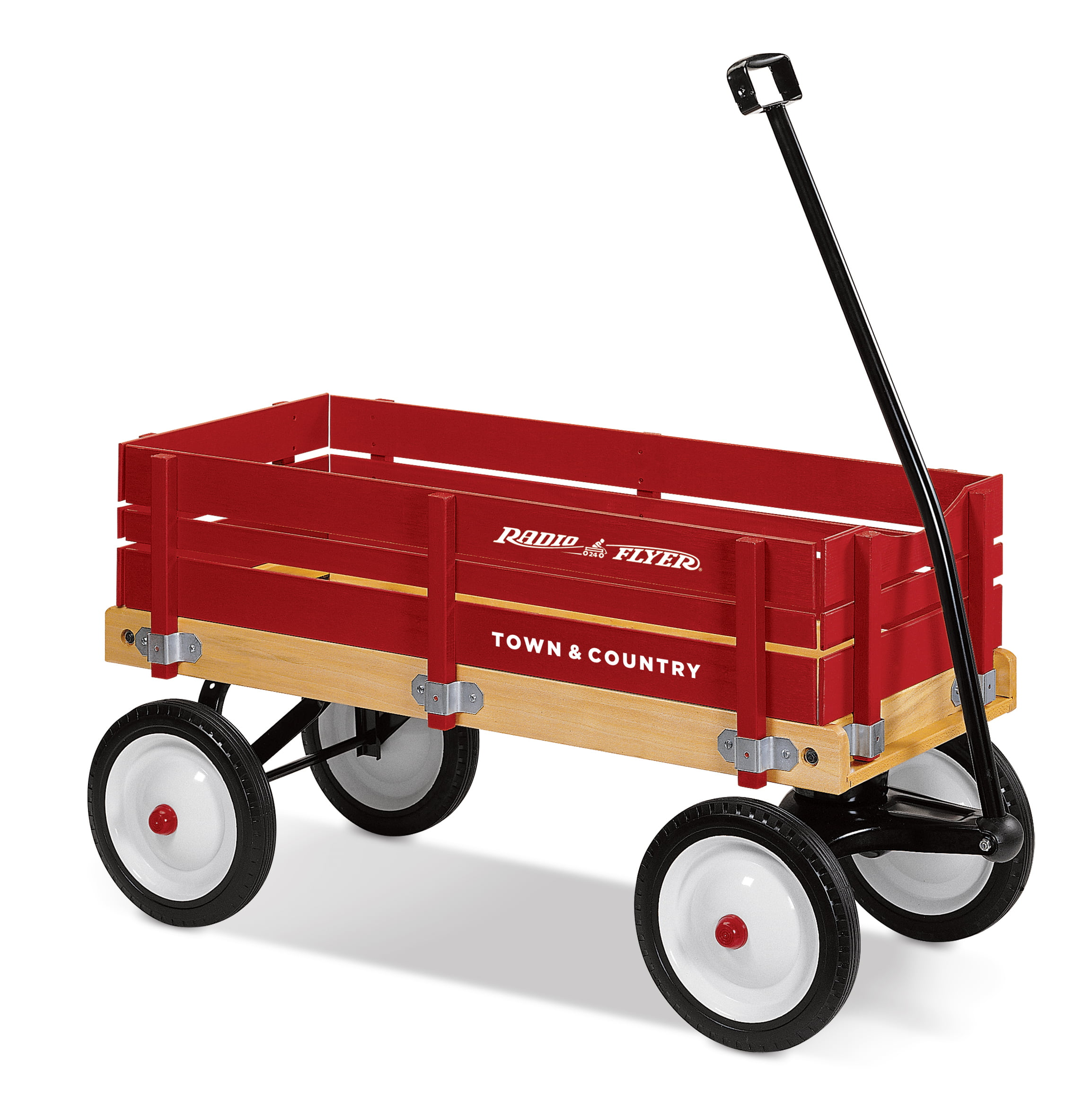 Radio Flyer, Town & Country Wagon, Wood Body, Red by Radio Flyer Inc.