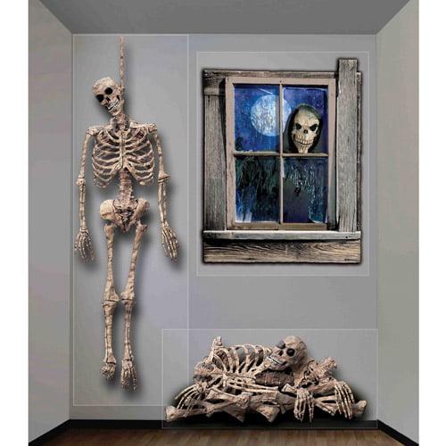4' x 5.3' Halloween Ghastly Wall Decor