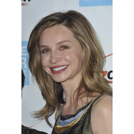 Calista Flockhart At Arrivals For Peace Over Violence Humanitarian Awards Dinner The Beverly Hills Hotel Beverly Hills Ca October 26 2012 Photo By Elizabeth GoodenoughEverett Collection Photo Print