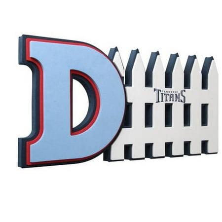 Atlanta Falcons 3D Foam D-Fence Sign