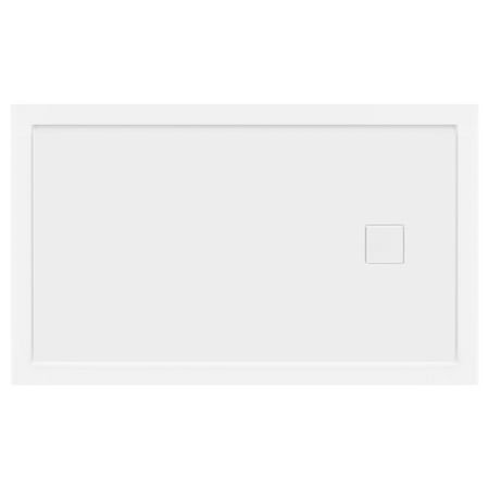 LessCare 60 x 36 Left Double Threshold Shower Pan Base Wall Corner Right -