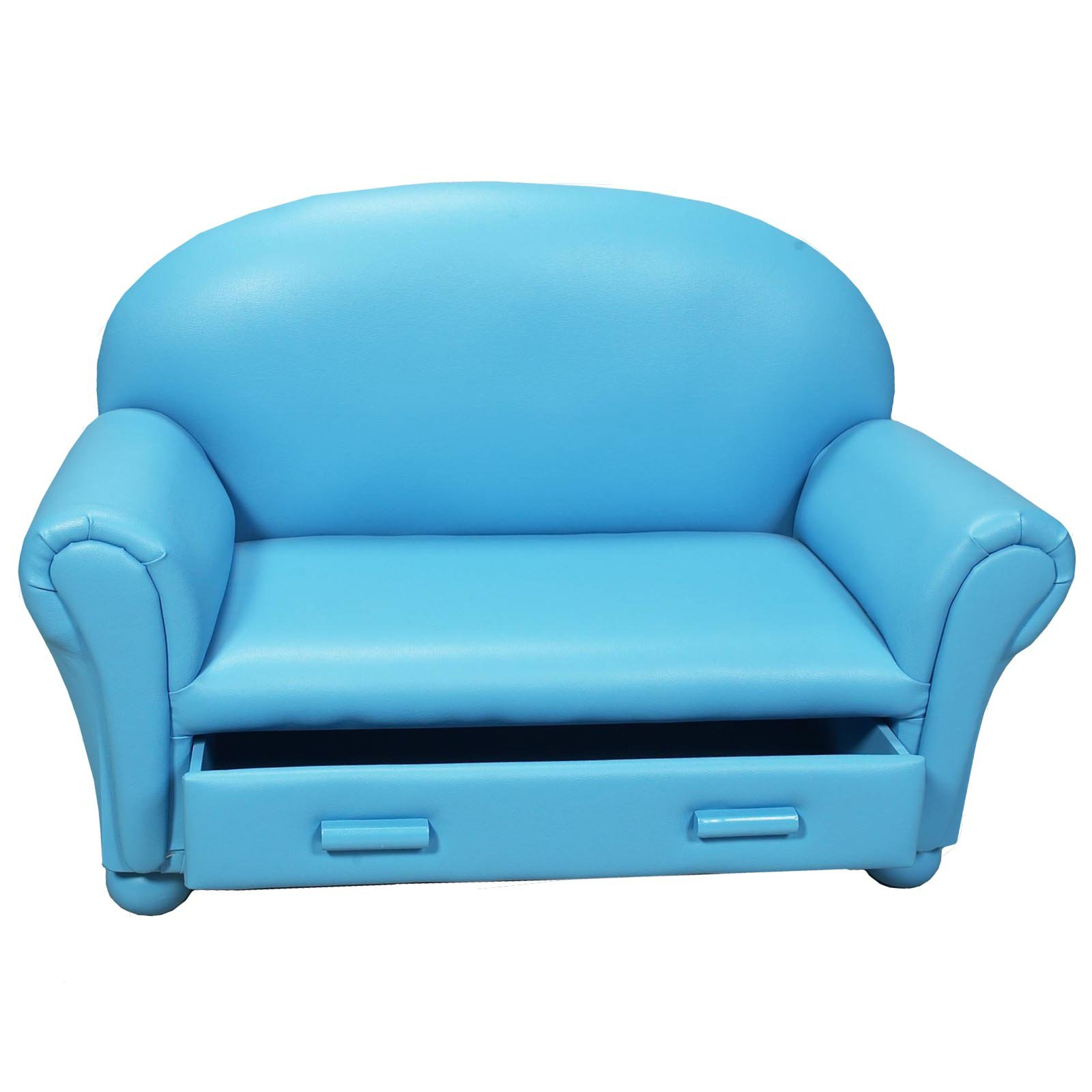 Childrens Sofa with Storage Drawer