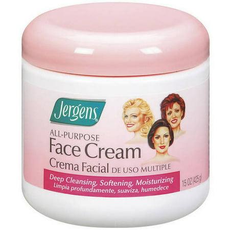 Jergens All-Purpose Cream Face Moisturizer , (Lemon Scented Moisturizer)