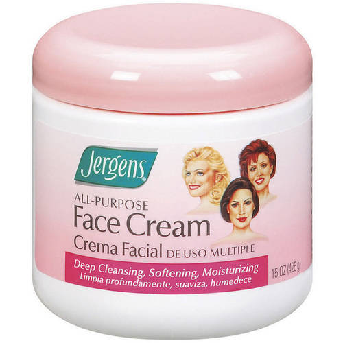 Jergens All-Purpose Cream Face Moisturizer, 15 Oz