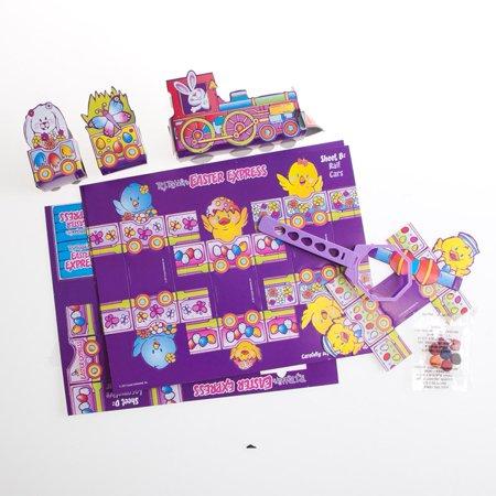 Easter Egg Coloring Kit With Egg Train - Walmart.com