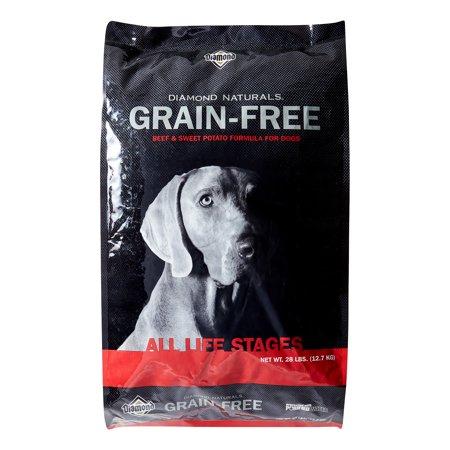Diamond Grain-Free Beef and Sweet Potato Dry Dog Food, 28 Lb (Diamond Grain Free Dry Dog Food)