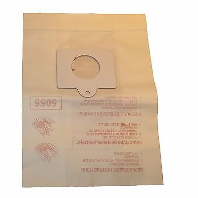 Kenmore Type C, Q, C5 Vacuum Bags Style 5055 50558 Sears Progressive Intuition [Single Loose Dust