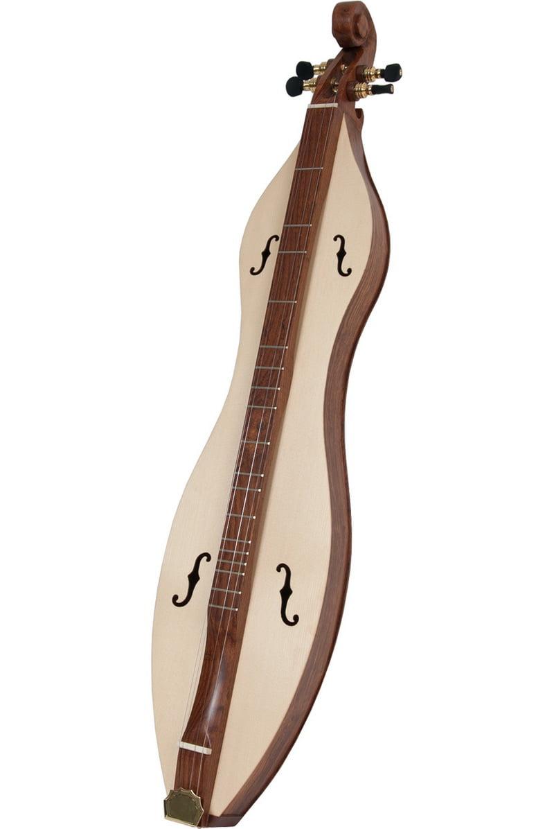 Roosebeck Emma Mountain Dulcimer 4-String Vaulted Fretboard Spruce Soundboard F-Holes by Roosebeck