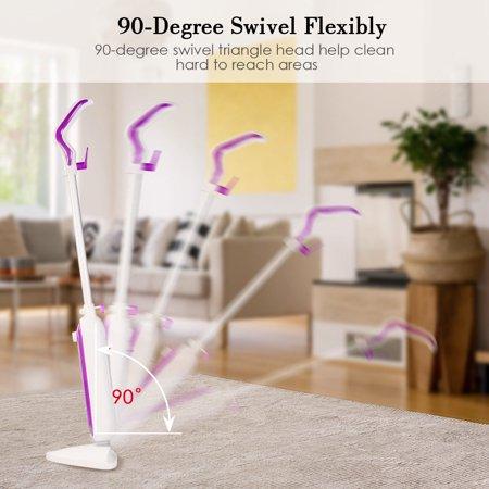Costway Electric Steam Mop Cleaner Steamer Floor Carpet