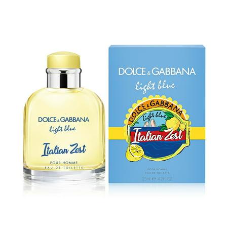 Light Blue Italian Zest by Dolce & Gabbana Eau De Toilette Spray 4.2 oz for (Is Dolce And Gabbana Italian)