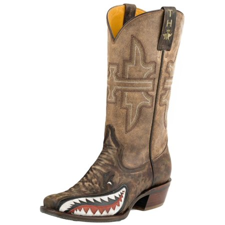 7cc4379c9b5 Tin Haul - Tin Haul Western Boots Mens Sharky Bomb Sole Green 14-020 ...