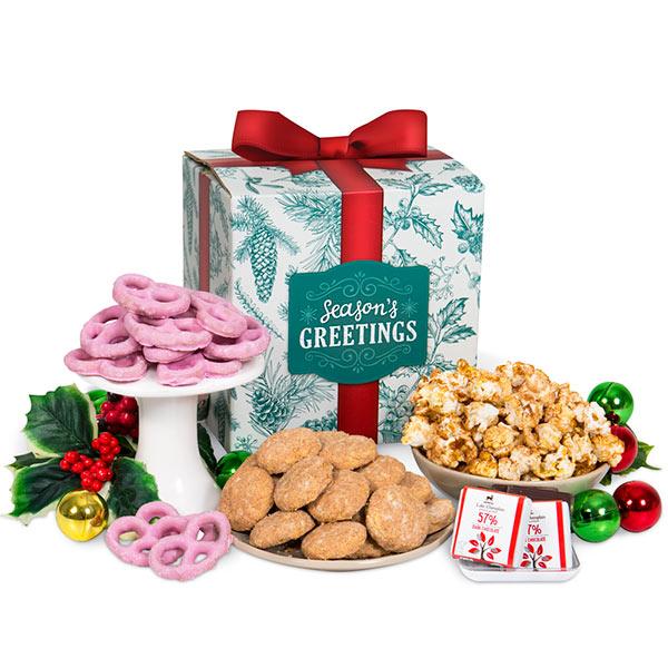 Season's Greetings Snack Gift Box