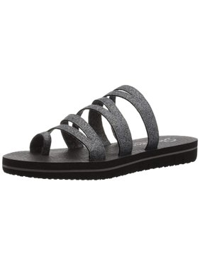0b1af73cd90c Product Image Skechers Women s Zenflex-Camp Zen-Multi-Strap Toe Loop Flip  Flop
