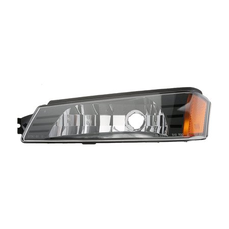 NEW DRIVER SIDE TURN SIGNAL LIGHT FITS CHEVROLET AVALANCHE 1500 2002-06 15077336 GM2520184 Chevrolet Malibu Turn Signal Switch