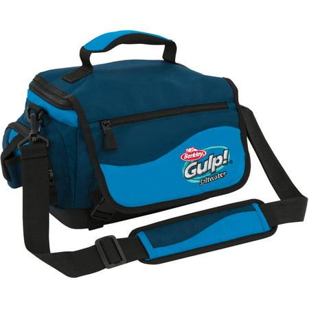 Gulp tackle bag blue for Fishing bags walmart