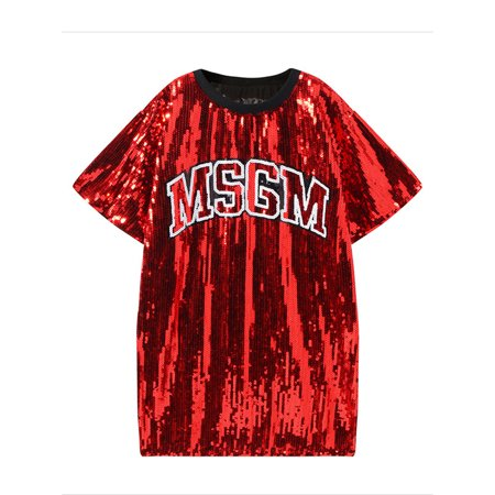 Junior Sequin Decorated Fashion T-Shirt