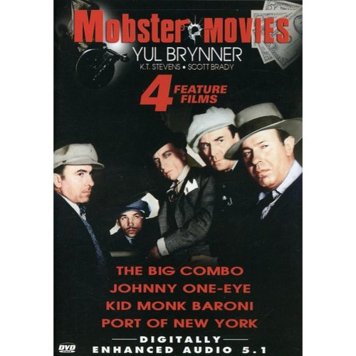 Mobster Movies: The Big Combo / Johnny One-Eye / Kid Monk Baroni / Port Of New York