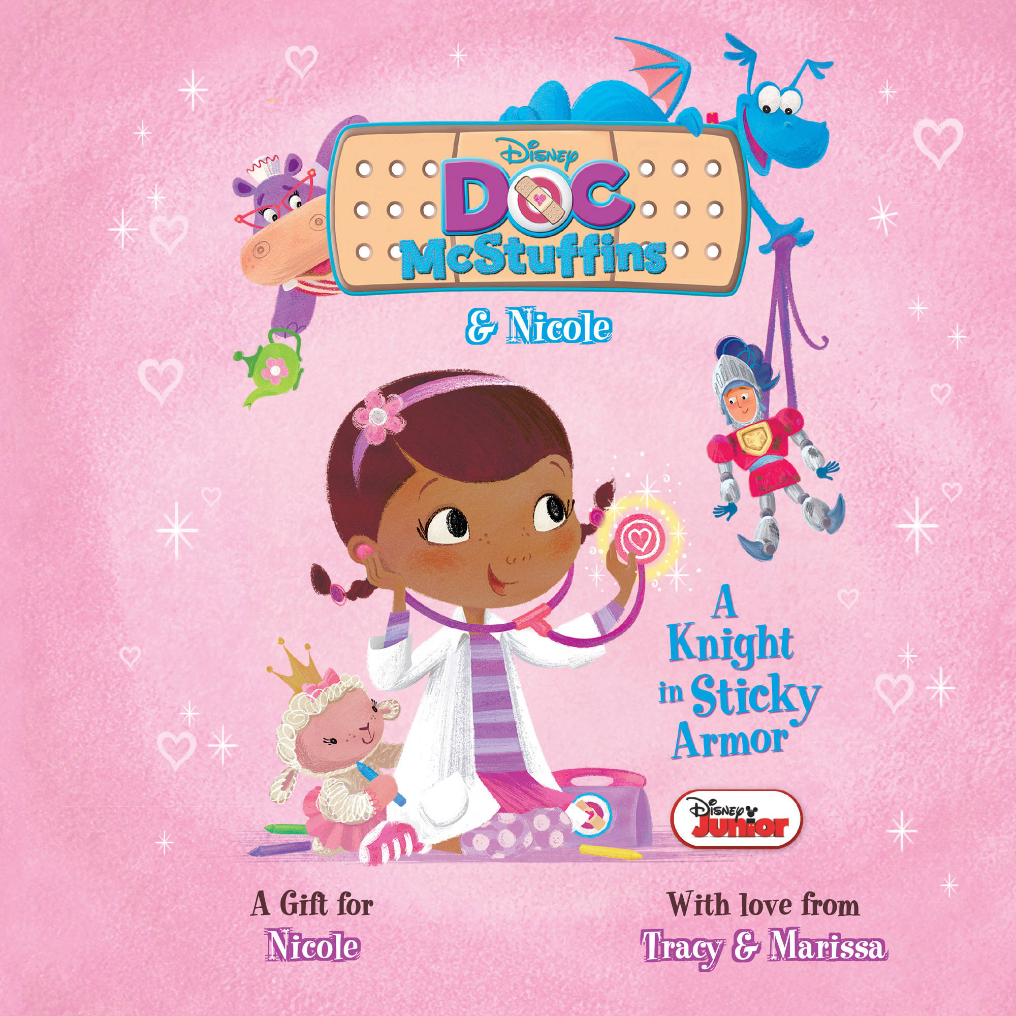 Personalized Book - Disney's Doc McStuffins: A Knight in Sticky Armor