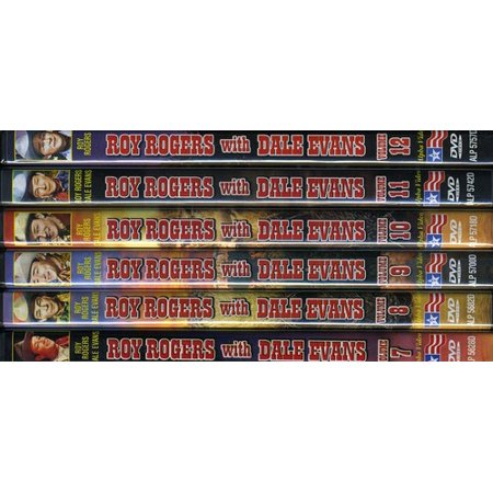 Roy Rogers With Dale Evans: Volume 7-12 (DVD)