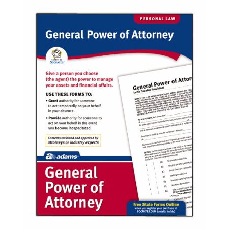 Socrates General Power Of Attorney Forms Legal Reference 1 – General Power of Attorney Forms