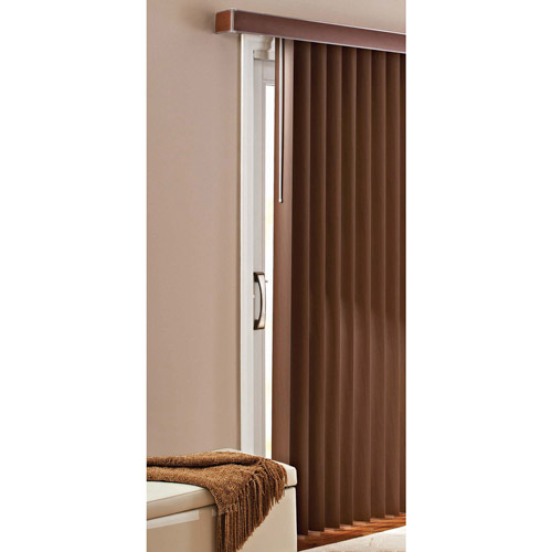 Better Homes and Gardens Vertical Blinds Printed Chestnut