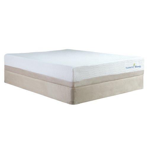 modern sleep natural sleep kiera talalay latex memory foam 11inch mattress multiple sizes - Talalay Latex