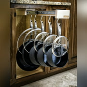 Glideware Wood Pull-out Cabinet Organizer for Pots, Pans, and Much More