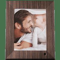NIX LUX 8 inch Digital Photo Frame - Wood