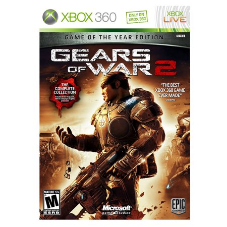 Gears of War 2: Game of the Year Edition (Xbox 360) (Game Gear Accessories)