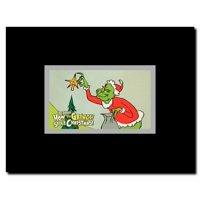How the Grinch Stole Christmas Framed Movie Poster