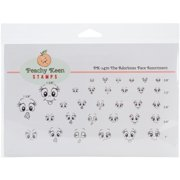 Peachy Keen Stamps Clear Face Assortment 32/pkg-the Adorbsies