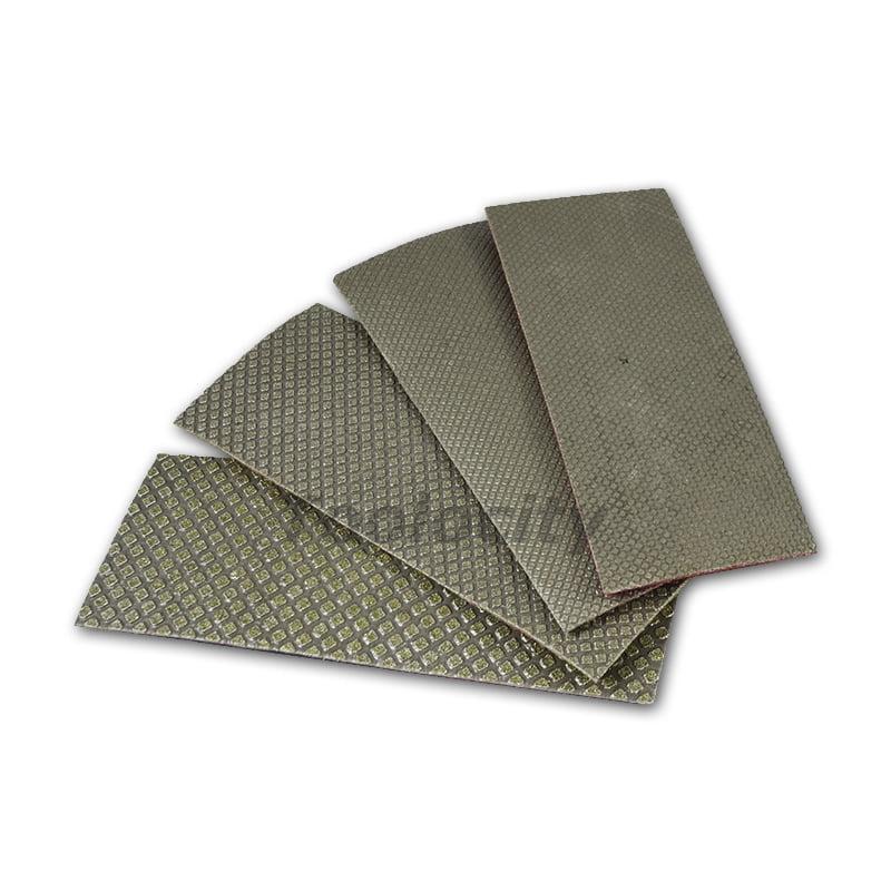 Electroplated Diamond Hand Polishing Sheets Set of 4 no b...