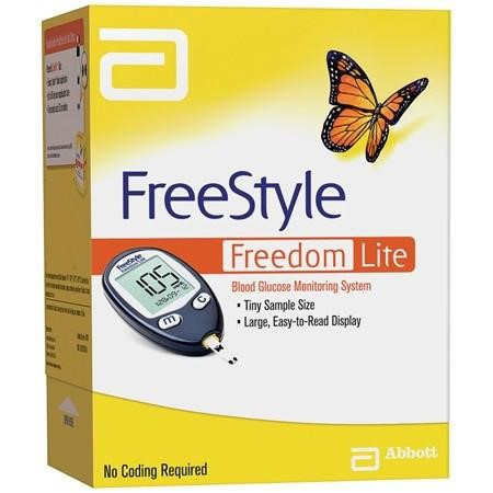 FreeStyle Freedom Lite Glucose Meter - One Time Delivery