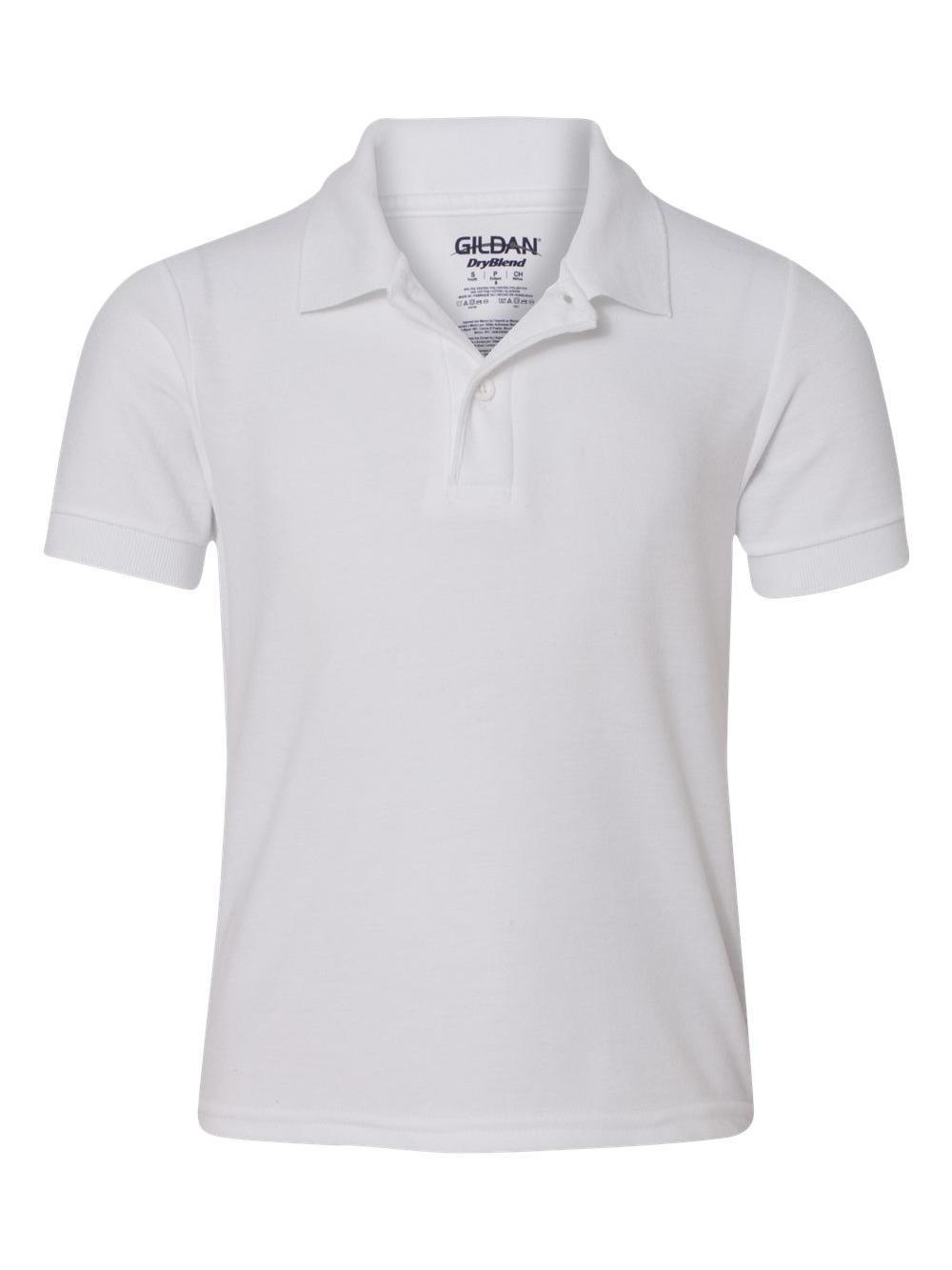 Gildan DryBlend® Youth Double Pique Sport Shirt