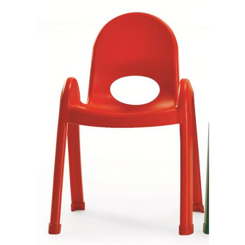 Value Stack Chair in Candy Apple Red