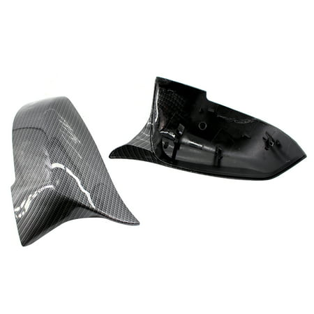 Rearview Mirror Shells Side Wing Mirror Cover Cap Carbon Fiber Style Pair Fit For BMW F32 F30 F31 F33 F36